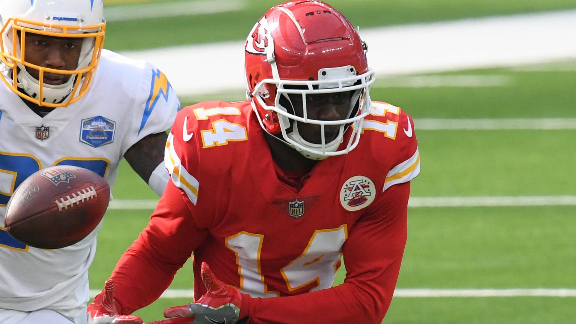 Is Sammy Watkins playing Monday night? Dream injury update for Chiefs-Ravens
