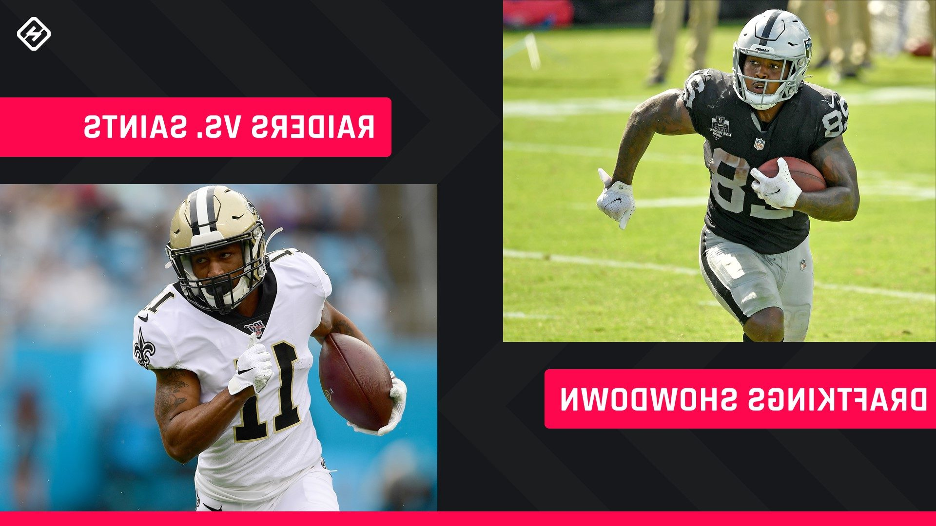 Monday Night Football DraftKings Picks: NFL DFS lineup recommendations for Week 2 Saints-Raiders Showdown competitions