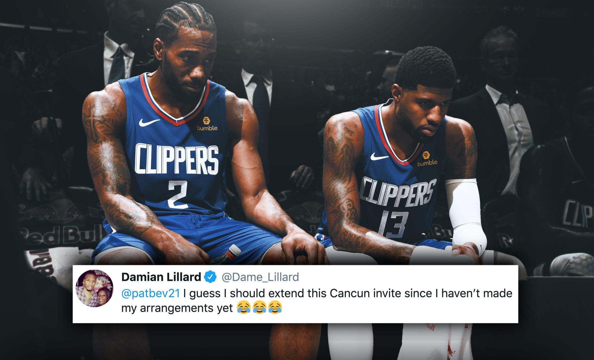 NBA Players Roast Clippers for Blowing 3-1 Lead Against the Nuggets