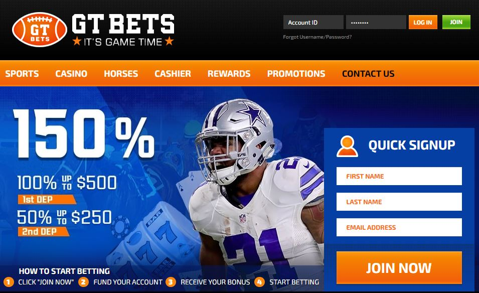 GTBets Changes Domain Extension