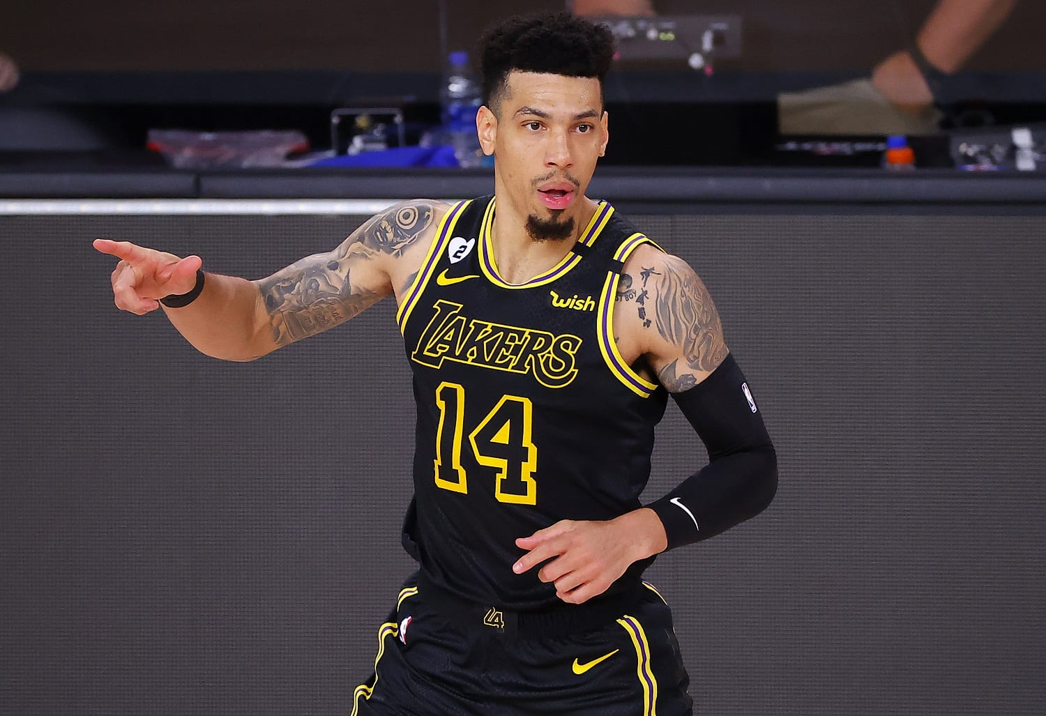 Lakers' Danny Green and Fiancée Receive Death Threats