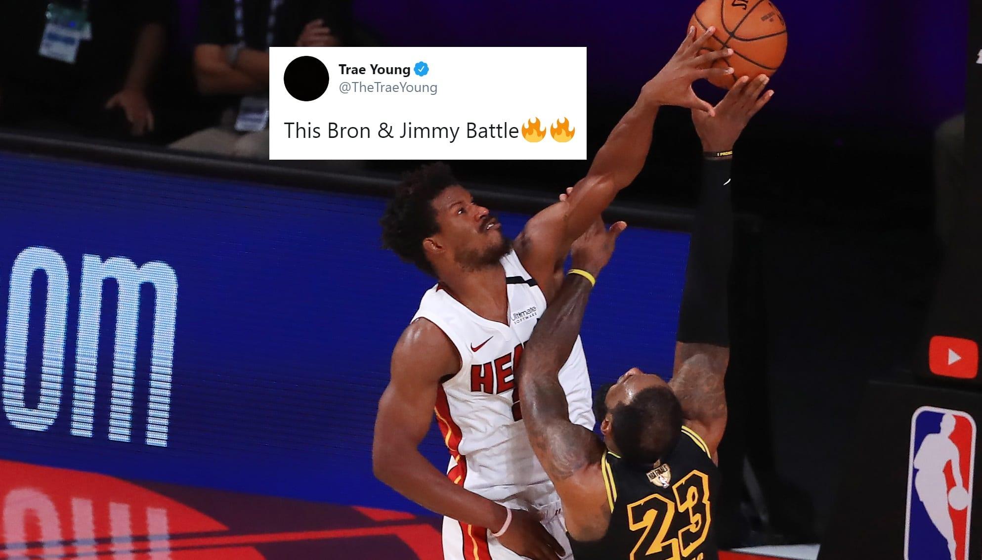 NBA Players React to Crazy Game 5 Ending