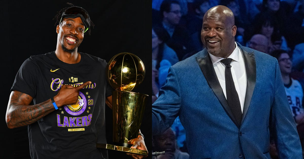 Shaq Takes Shot at Dwight Howard for Speech After Lakers' Title Win