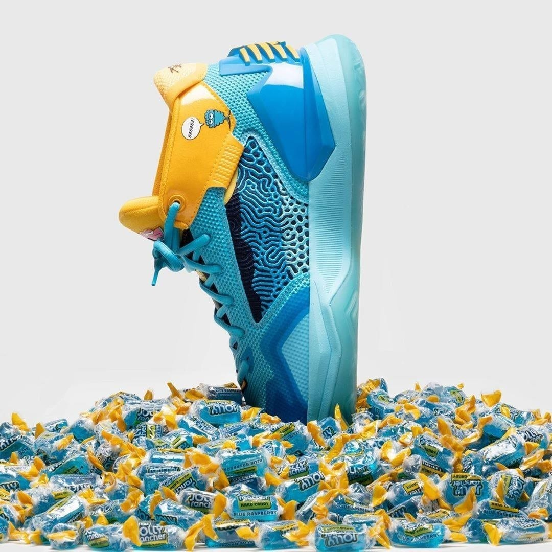 Blue Raspberry Edition of New Balance's Kawhi X Jolly Rancher Makes a Statement