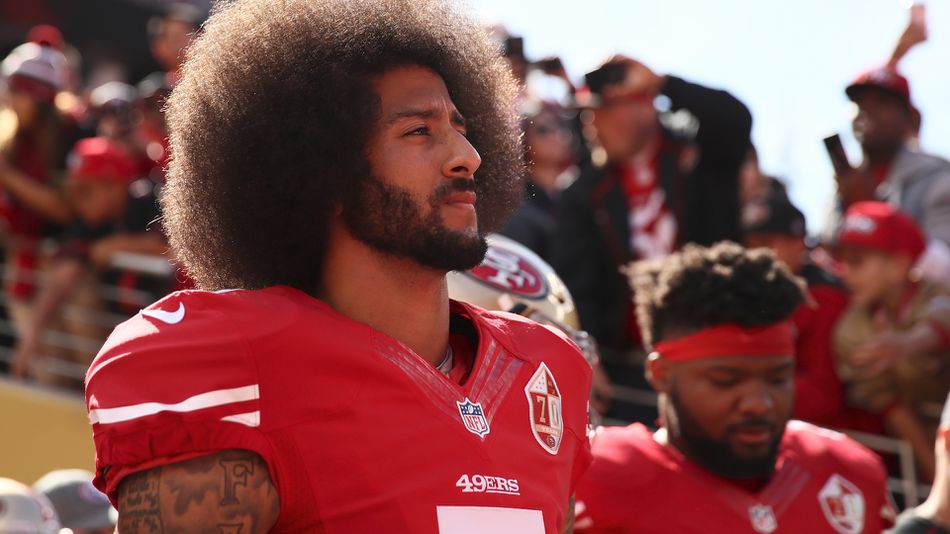 Colin Kaepernick's brand-new 'Icon' jersey sells out in hours