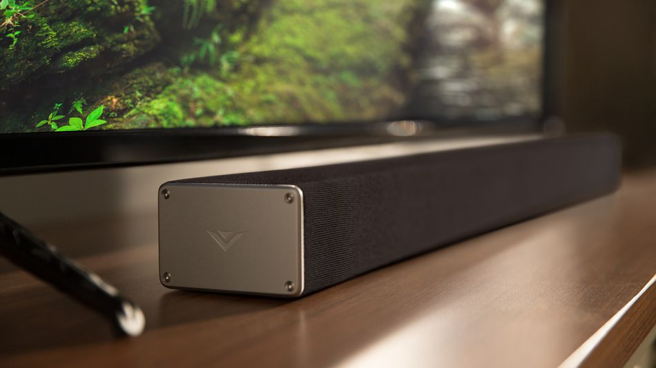 Hear this Sunday's video game in surround noise for less than $200 with the VIZIO SmartCast Soundbar System