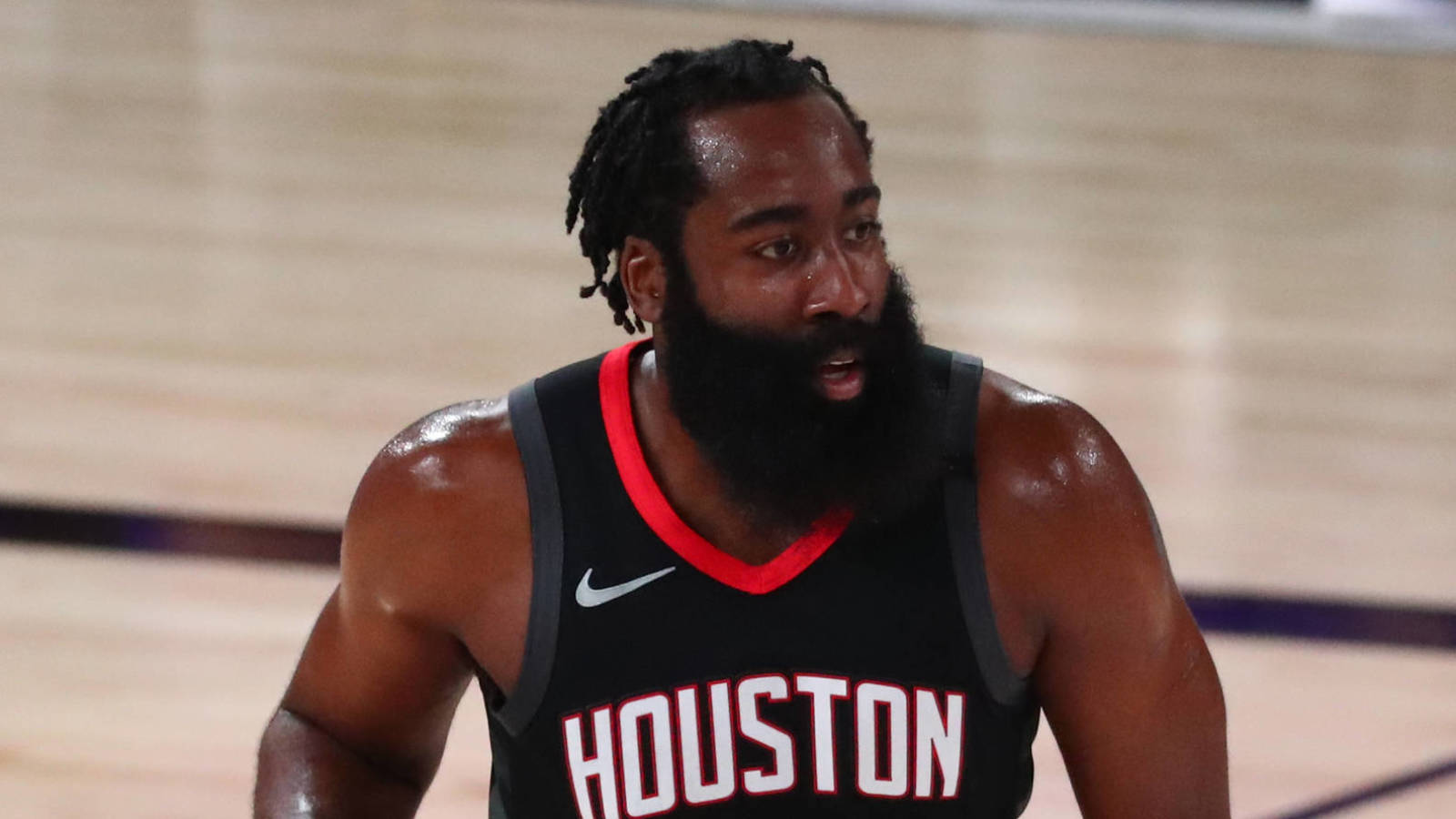 James Harden Finally Reports To Rockets Training Camp After 2 Days
