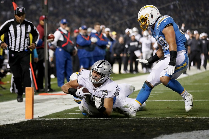 Thursday Night Football – Raiders vs Chargers Free Pick