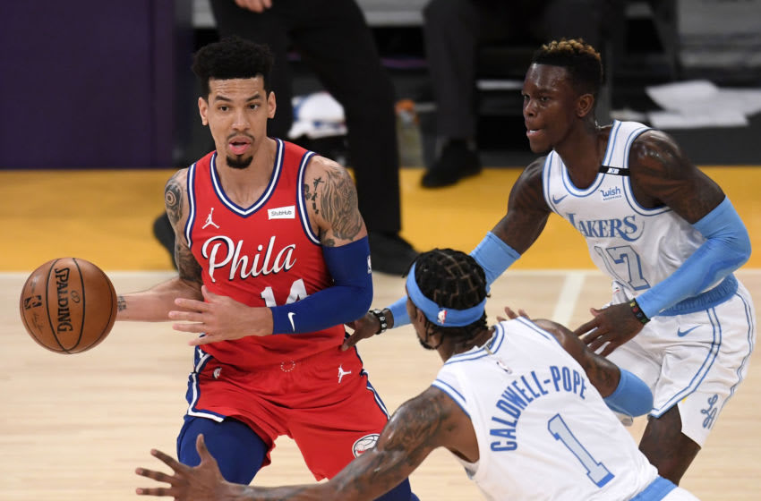 Danny Green did something special for this 94-year-old 76ers fan