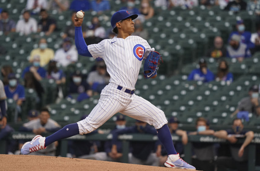 Cubs demote Adbert Alzolay amid flurry of roster moves