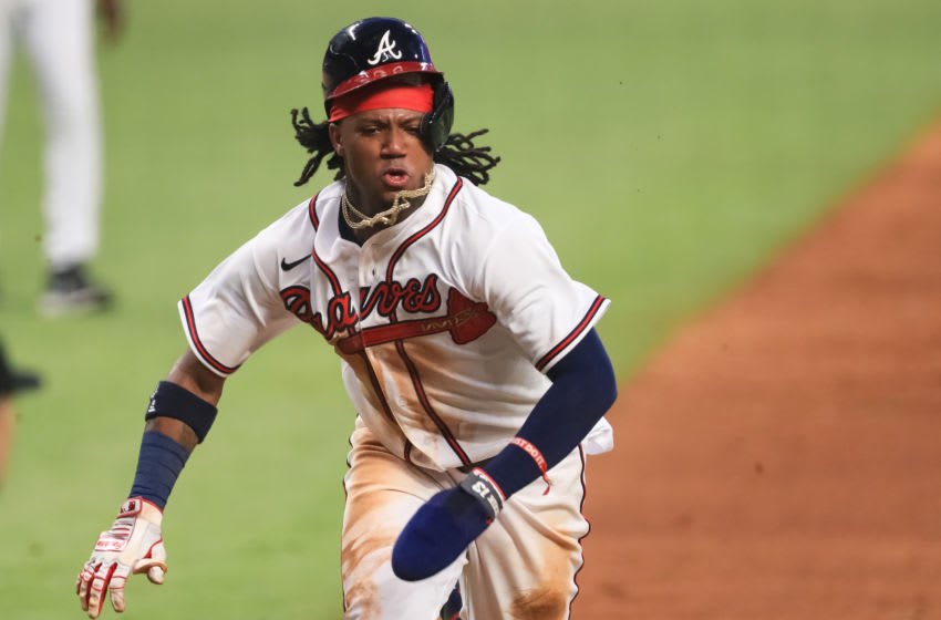 Ronald Acuña proves he's The Flash with blazing speed on run scored (Video)