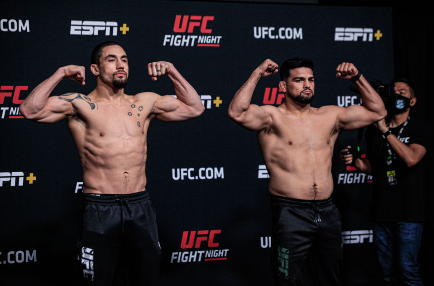 UFC Vegas 24: Robert Whittaker vs. Kelvin Gastelum live results and highlights