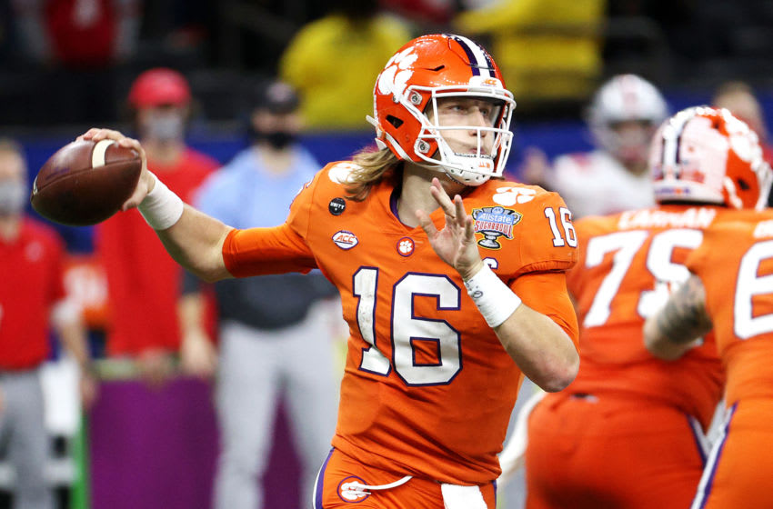 Trevor Lawrence basically confirms the Jags are taking him No. 1 overall