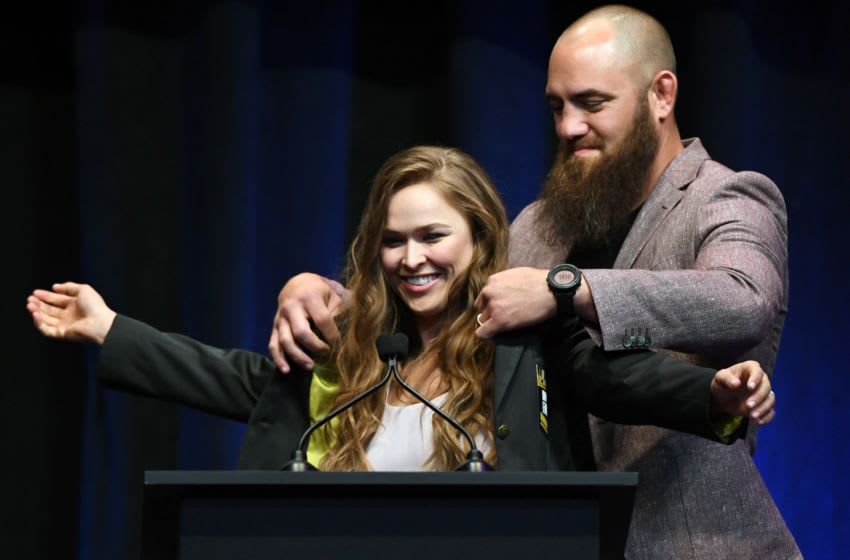 Ronda Rousey, Travis Browne announce pregnancy in adorable YouTube video