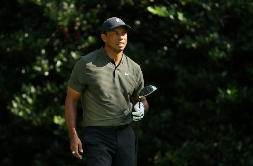 Tiger Woods shares first photo post-accident on social media