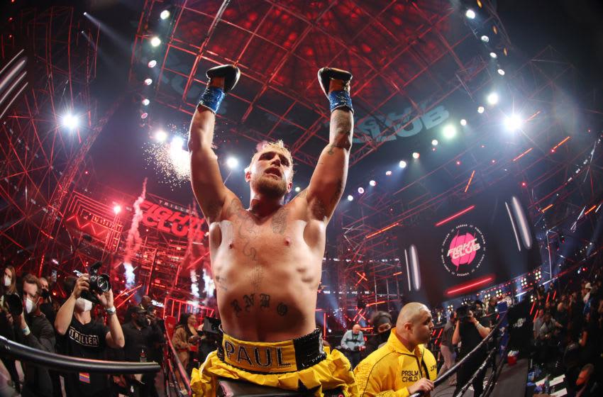 Daniel Cormier confronts Jake Paul at UFC 261 following NSFW chant (Video)