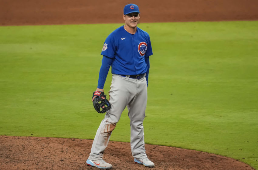 Anthony Rizzo joins Cy Young conversation after striking out Freddie Freeman with nasty curve