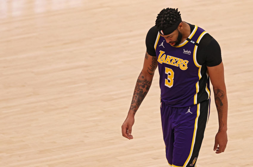 Anthony Davis has a bleak response to another Lakers' loss