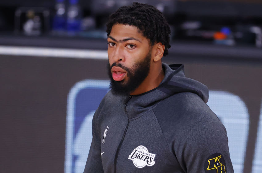 Lakers: Anthony Davis isn't coming back from injury anytime soon
