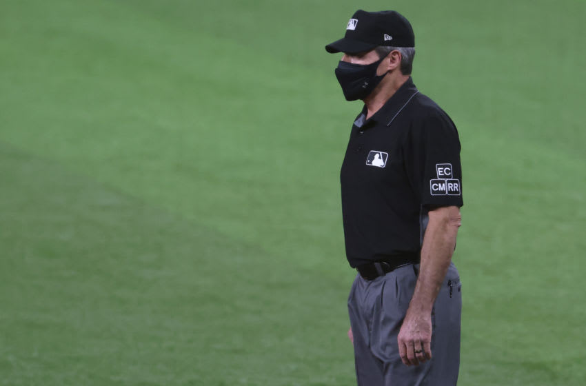 Definitive proof MLB umpire Angel Hernandez might be legally blind