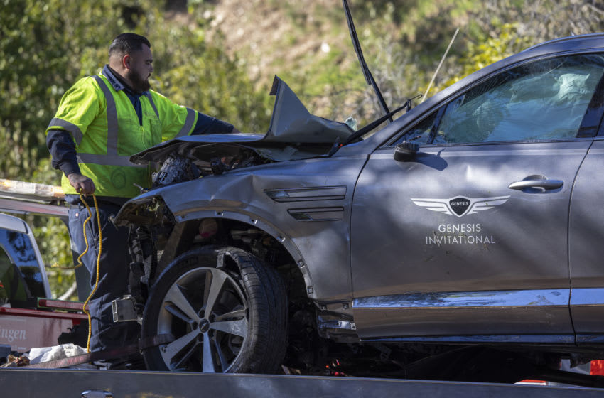 Authorities reveal primary cause of car accident involving Tiger Woods
