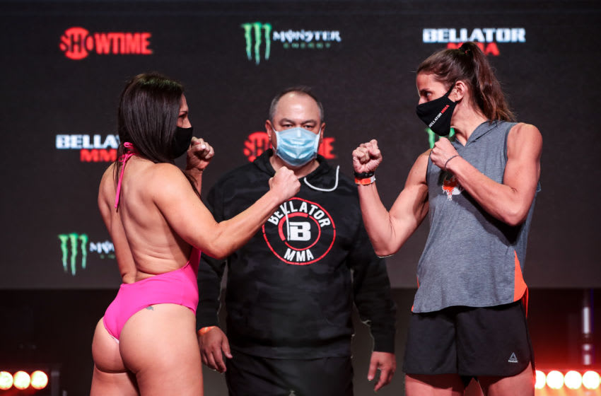 Bellator 256: Cat Zingano out-grapples and submits Olivia Parker