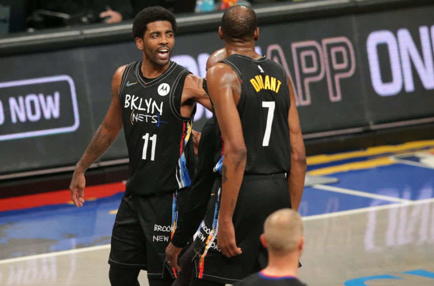 Kyrie Irving, Dennis Schroder ejected from Nets-Lakers game
