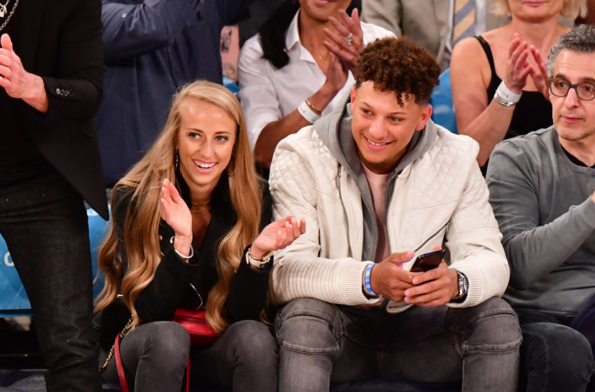 Brittany Matthews posts adorable photo with Patrick Mahomes on anniversary
