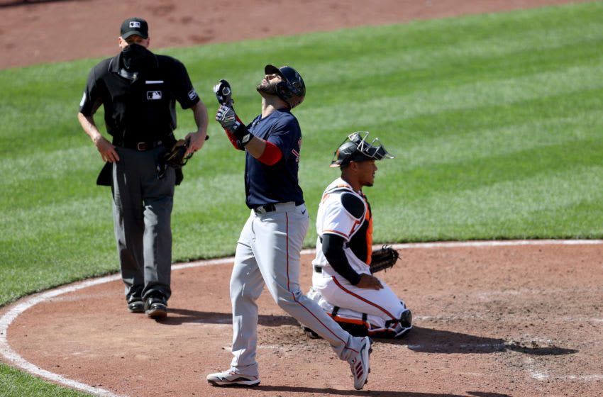 Red Sox: J.D. Martinez continues to dominate MLB with 3 homers vs. Orioles (Video)