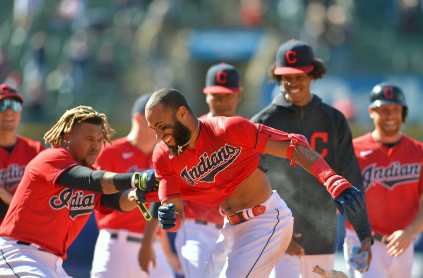 Cleveland Indians fans react to Amed Rosario walkoff and sweeping Cubs