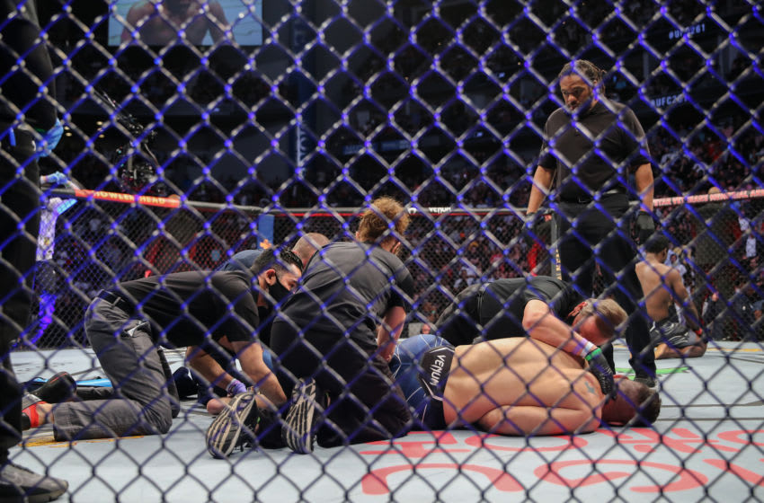 UFC 262: Chris Weidman reacts to Jacare Souza arm break just weeks after his own injury