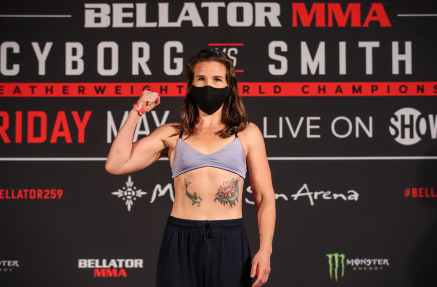 Yes, that was a huge burp you heard during Cris Cyborg vs. Leslie Smith 2