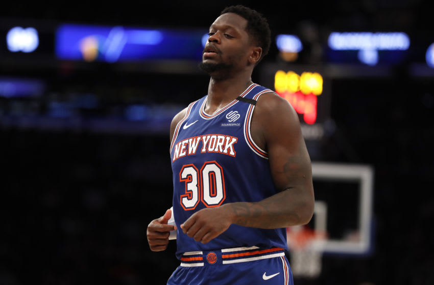 Julius Randle had the perfect reaction to Knicks Game 1 loss to Hawks