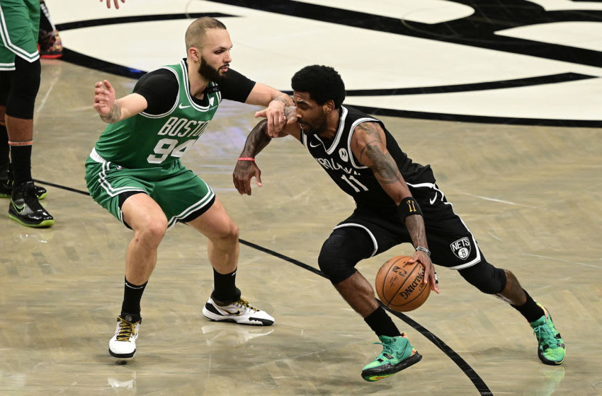 Kyrie Irving warns about crowd racism ahead of Boston return