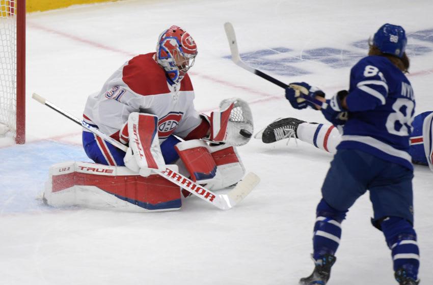 Canadiens goalie Carey Price robs William Nylander in Game 5 (Video)