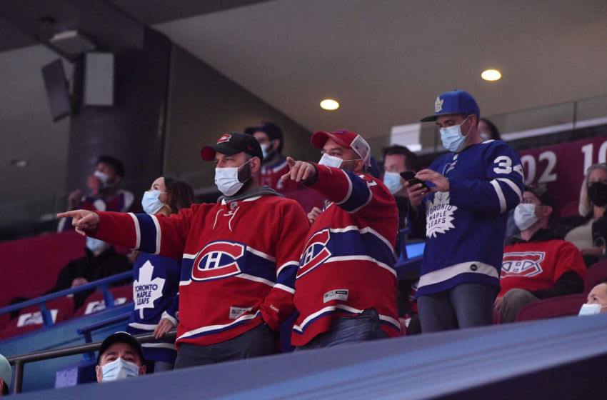 Canadiens fans are back to live sports just in time