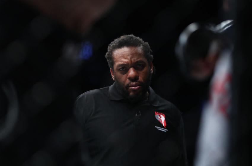 No, Herb Dean didn't curse during UFC Vegas 26