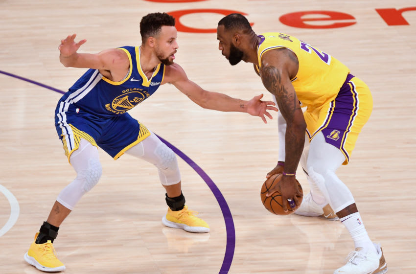 Steph Curry reacts to potentially facing LeBron and Lakers in play-in tournament (Video)