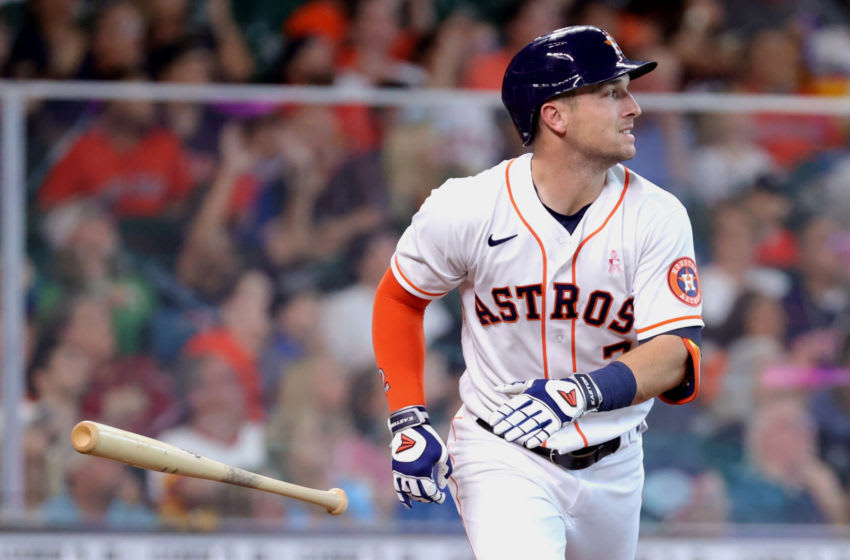 Alex Bregman flips out on home plate ump over terrible strike call (Video)