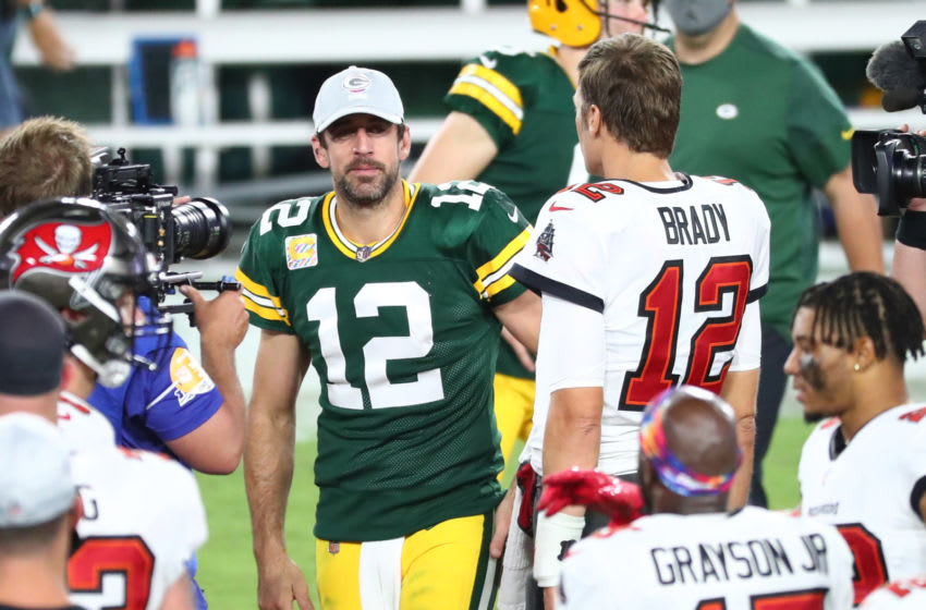 Aaron Rodgers literally taking a page out of Tom Brady's book for late-career renaissance