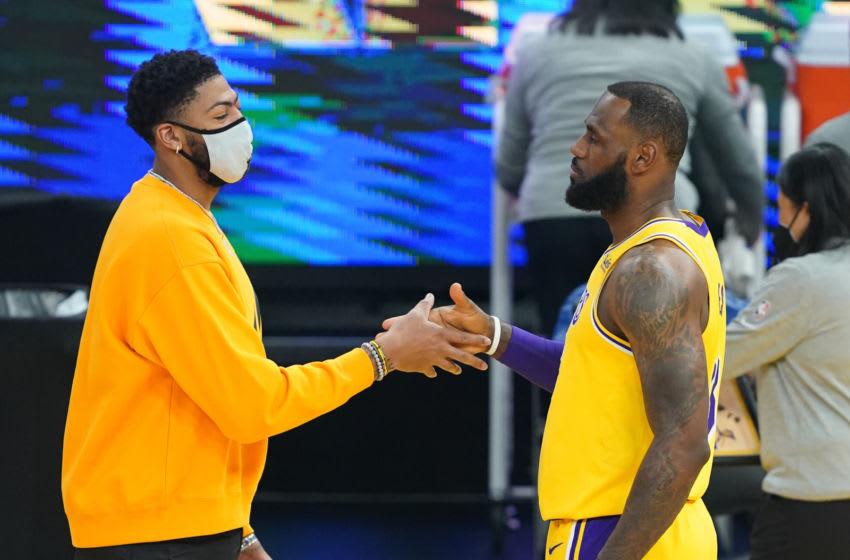 LeBron James, Anthony Davis won't play against Rockets Wednesday night