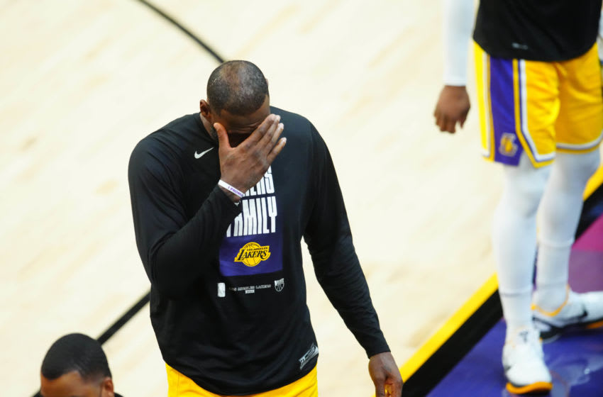 Skip Bayless found a way to insult LeBron James when he wasn't even playing