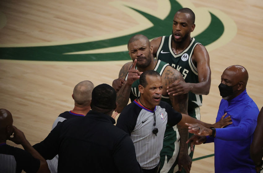 Kevin Durant's security guard not allowed to work in Milwaukee after shoving P.J. Tucker