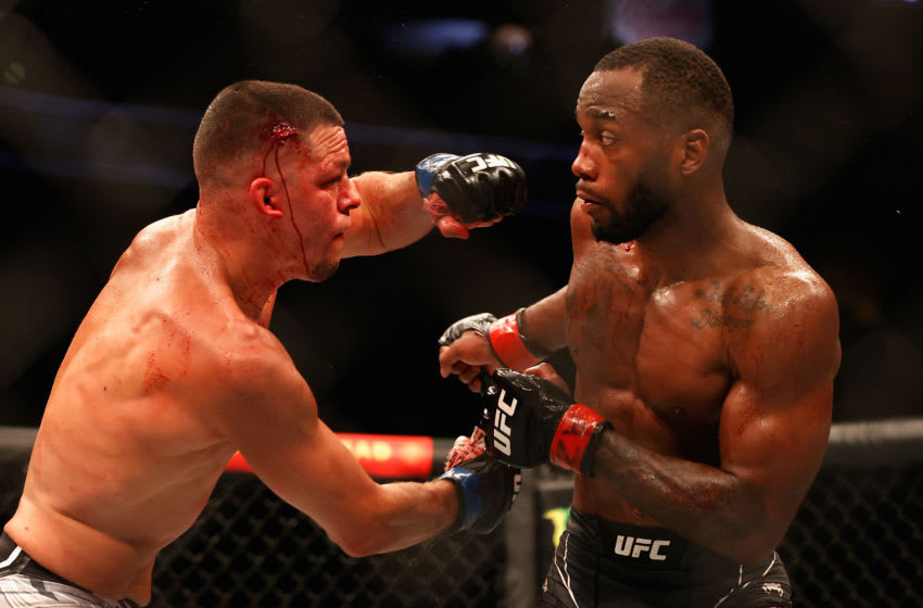 UFC 263: Leon Edwards outclasses Nate Diaz over five bloody rounds