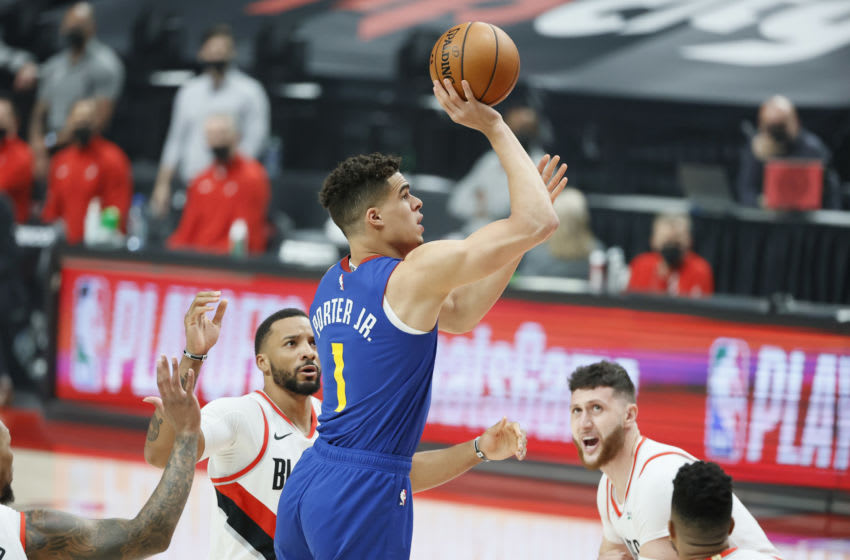 NBA Twitter reacts to Michael Porter Jr's red-hot first quarter