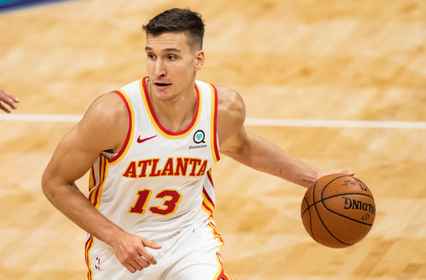 Bogdan Bogdanovic silences all of Philly with celebration after big 3-pointer (Video)
