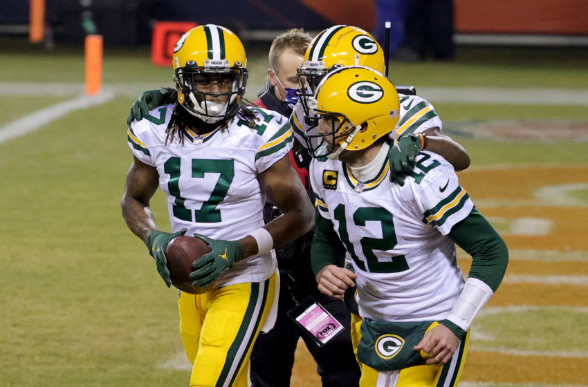 Davante Adams' NSFW quote on Aaron Rodgers will have Packers fans ready to run through a wall (Video)