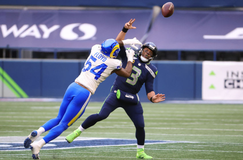 Russell Wilson says he never requested a trade out of Seattle