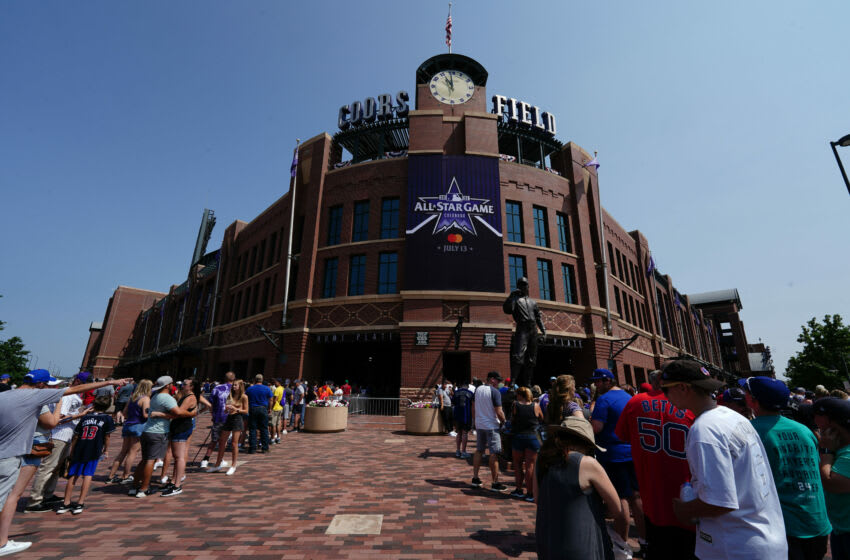 What's the longest home run hit at Coors Field?