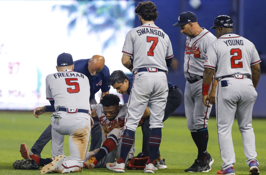 MLB Twitter sends well wishes to Ronald Acuña after devastating injury